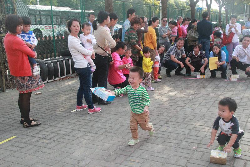 """徐泾幼儿园举办""""健康宝宝快乐亲子""""运动会"""